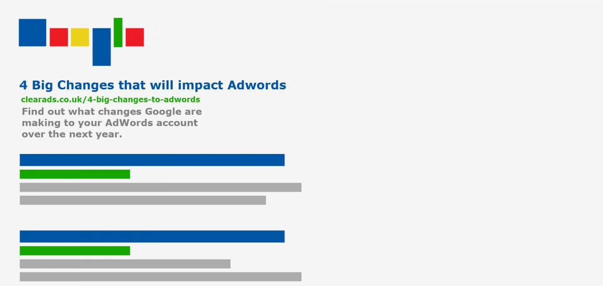 Google Adwords - Big Changes