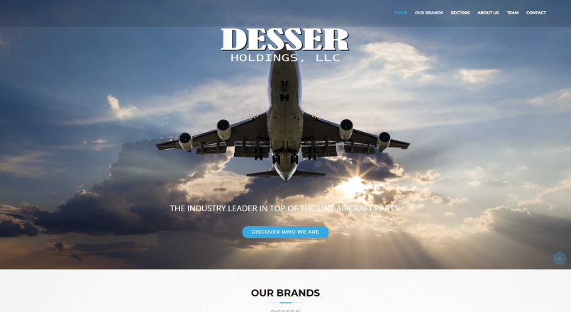 Desser Holdings LLC; Aircraft Parts Industry Leader