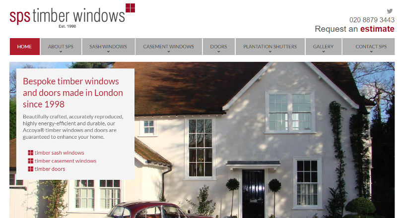 SPS Timber Windows